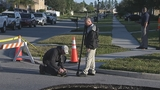 Photos: Clermont sinkhole closes street - (17/20)