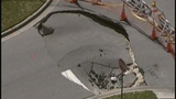 Photos: Clermont sinkhole closes street - (2/20)
