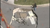 Photos: Clermont sinkhole closes street - (1/20)