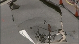 Photos: Clermont sinkhole closes street - (4/20)