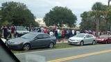 Photos: Lake Mary H.S. students evacuated… - (11/15)