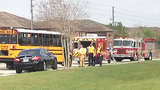 Photos: School bus collides with PT Cruiser - (4/6)
