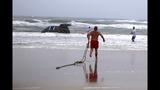 Car into Ocean at Daytona Beach_4697223