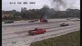 Photos: I-4 and SR-434 car fire - (8/10)