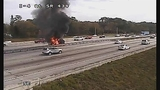 Photos: I-4 and SR-434 car fire - (5/10)