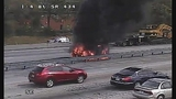 Photos: I-4 and SR-434 car fire - (2/10)