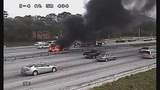 Photos: I-4 and SR-434 car fire - (7/10)