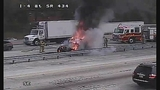 Photos: I-4 and SR-434 car fire - (1/10)