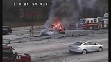 Photos: I-4 and SR-434 car fire - (4/10)