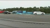 Photos: Truck carrying pipes crashes on I-95 - (7/8)