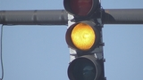 Yellow traffic light _4819906