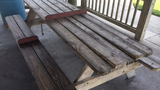 Photos: Picnic tables meant to ward off sleepers - (6/6)