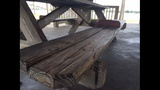 Photos: Picnic tables meant to ward off sleepers - (5/6)