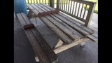Photos: Picnic tables meant to ward off sleepers - (4/6)
