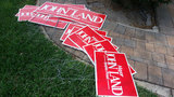 Photos: Apopka mayoral campaign signs tossed… - (4/4)