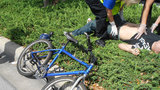 Photos: Bicyclist injured in golf cart hit-and-run - (6/6)