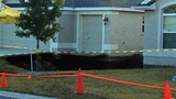 Photos: Villages sinkhole opens up again - (5/12)