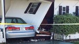 Photos: Car crashes into S. Daytona home - (1/3)