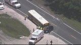 Photos: School bus, car and semi involved in accident - (8/10)