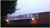 Photos: Controverisal senior class prank sign… - (3/5)
