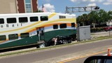 Photos: SunRail train hits car on tracks - (3/7)