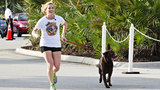 Photos: Vanessa and Baylor complete the Run… - (4/15)