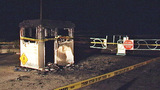 Daytona Beach tollbooth fire _5334599