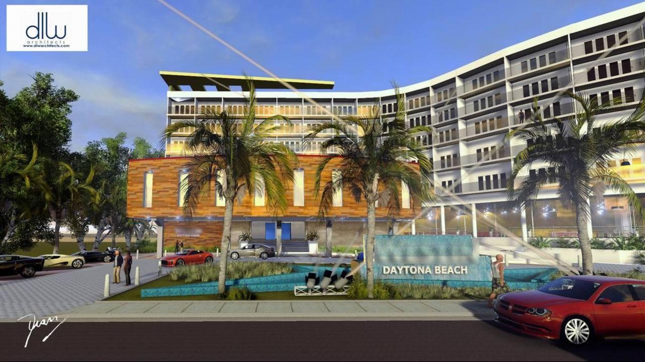 Developer Hopes Luxury Hotel Will Ease Tensions On Beach Driving Desert Inn Resort And Suites Daytona