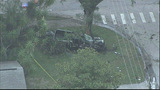 Photos: Truck crashes after police pursuit - (1/10)