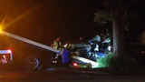 Photos: Truck crashes after police pursuit - (10/10)