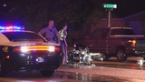 Photos: Motorcycle hits, kills pedestrian in Orlando - (4/7)