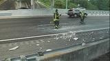 Photos: Tractor-trailer crashes into… - (1/7)