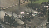 Photos: Fire destroys trucks at Orlando business - (1/10)