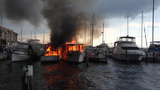 Photos: Titusville boat fires - (2/7)
