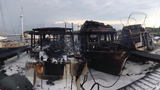 Photos: Titusville boat fires - (4/7)