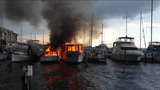 Photos: Titusville boat fires - (1/7)