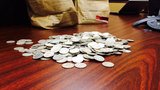 Photos: 60 pounds of silver coins found in… - (2/4)