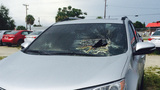 Lightning blasts hole in Brevard County car - (6/7)