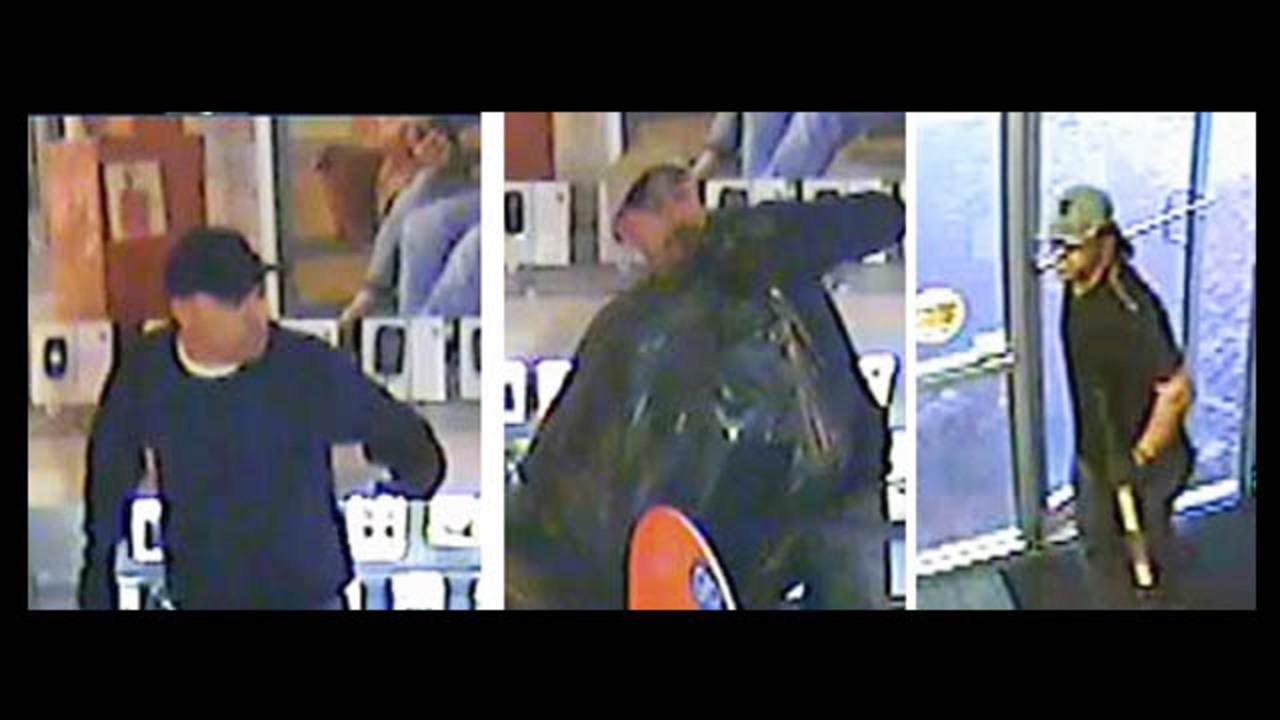 Surveillance: Edgewater AT&T burglary