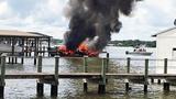 Boat fire on Intracoastal Waterway _6167893
