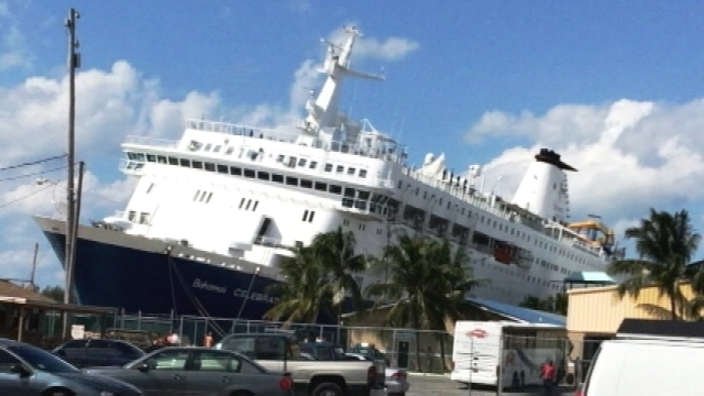 Bahamas Cruise Ship Disabled After Striking Object On Way