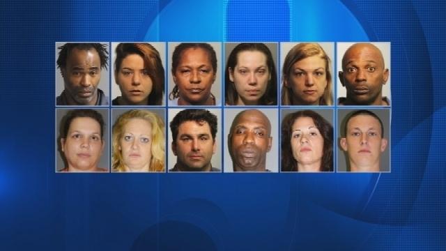 12 arrested in Seminole County prescription pill, cocaine