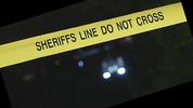 Sheriff's Office crime scene tape