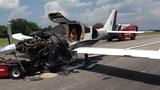 Small plane catches fire_7134687