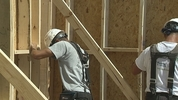 Habitat for Humanity kicked off a national building blitz by starting a home in Sanford.