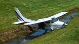 Small plane goes off runway in Titusville_7877852