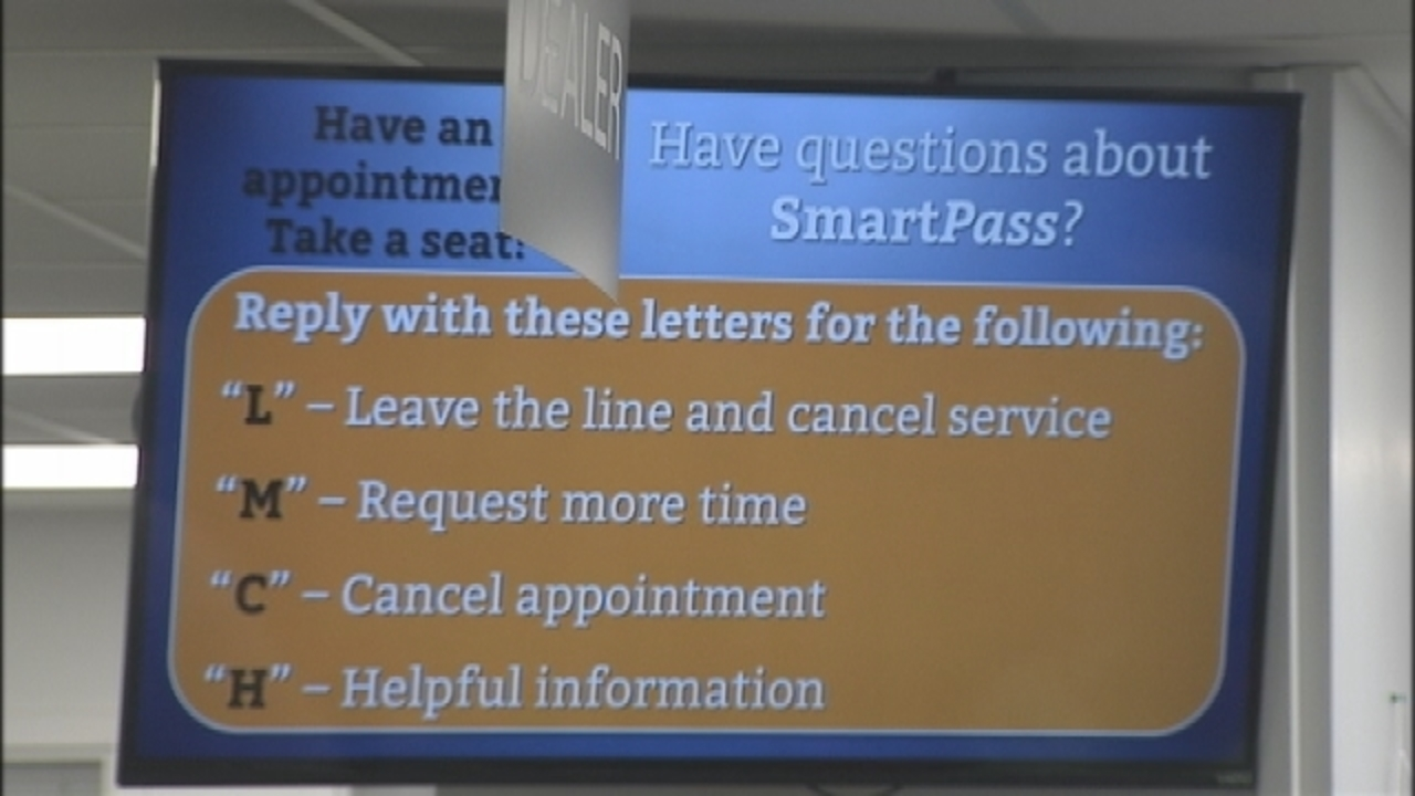 New system lets you sign in at DMV, get a text when your