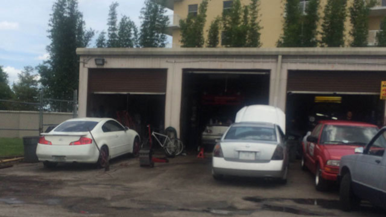 Photos: Auto shops operating out of Orange County storage facility ...