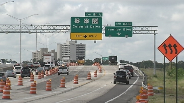 Major Traffic Shift On I 4 Westbound In Orlando To Begin