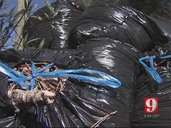 Orange County trash haulers not picking up yard waste